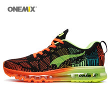 Onemix new Max Air men's running shoes rhythm Sneakers portable shoes for men Breathable mesh sports shoes fee shipping 1118(China (Mainland))