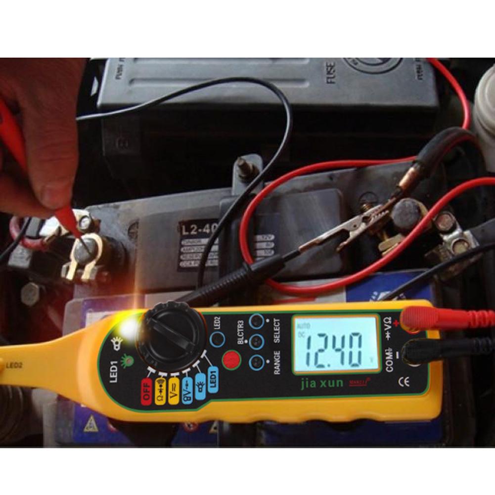 Multi-function Automotive Auto Circuit Tester Multimeter Lamp Probe Light Car Repair Automotive Electrical Tester System Diagnol(China (Mainland))