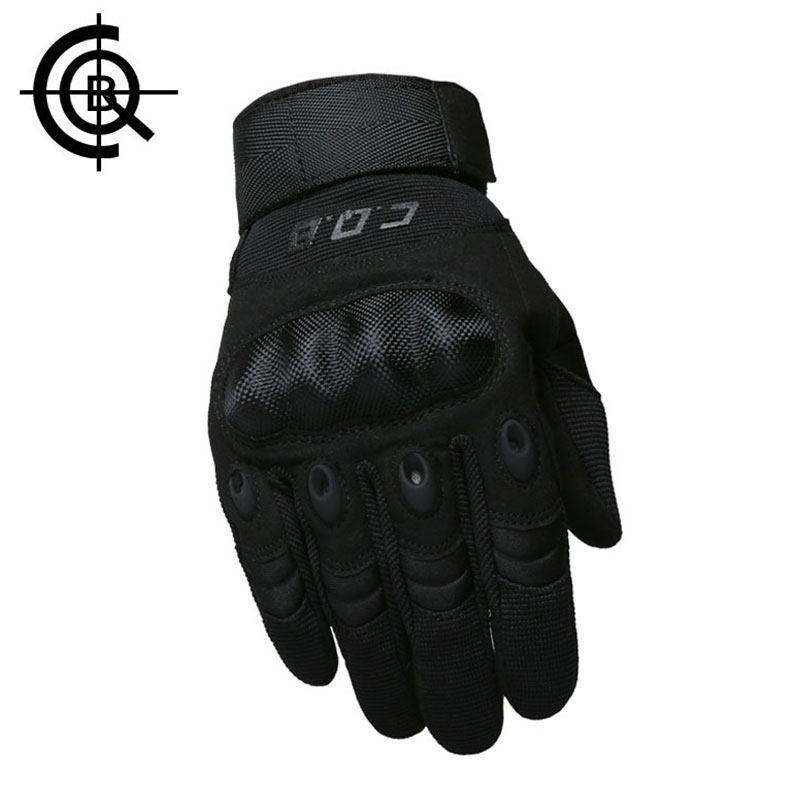CQB Outdoor Tactical Armor Protection Shell Gloves Full Finger Sports Hiking Cycling Military Men's Gloves ST0055(China (Mainland))