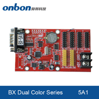 BX-5A1 the latest ONBON led controller for single and double color screen