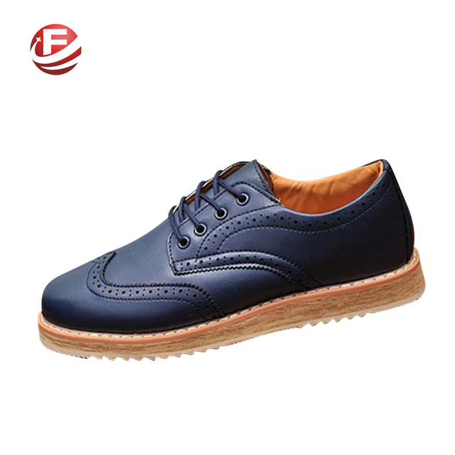 Новые бизнес-мужчин мода размер 37 - 47 Высокое качество новый бренд искусственная ...