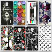 Case For Huawei Y635 Colorful Plastic Matte Transparent Printing Drawing Phone Cover For Huawei Y635 Fashion Hard Phone Cases