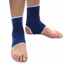 1 Pair Elastic Ankle Brace Support Sports Gym Protector Guard Pain Relief Wrap New Arrival(China (Mainland))