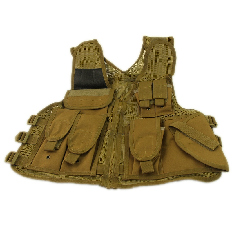 Tactical Vest Mens Hunting Outdoor Military Vest Army Swat Protective Equipment Mesh Vest(China (Mainland))