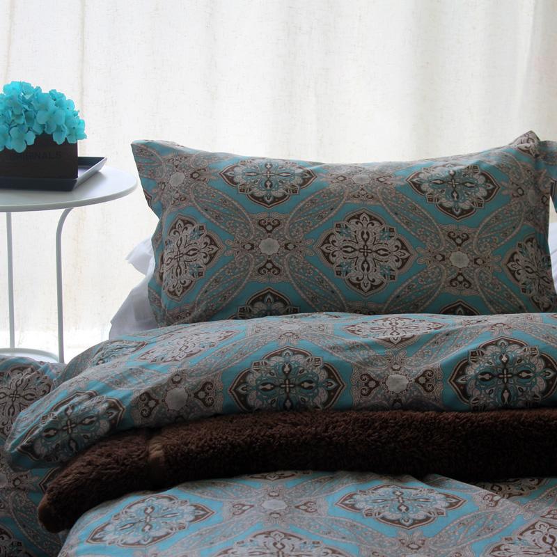 Aliexpress Buy Luxury Cotton Bohemian Style Bedding