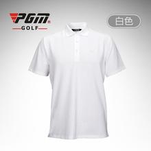 PGM golf men's polo shirts cotton camisetas de marca short golf spike tshirt men camisa quick dry blazer clothing golf apparel