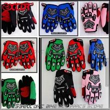 Free Shipping Racing  gloves for YOUTH/PEEWEE kids motorcycle Bicycle Dirt Pit Bike Poceket bike Motorbike ATV/QUAD(China (Mainland))