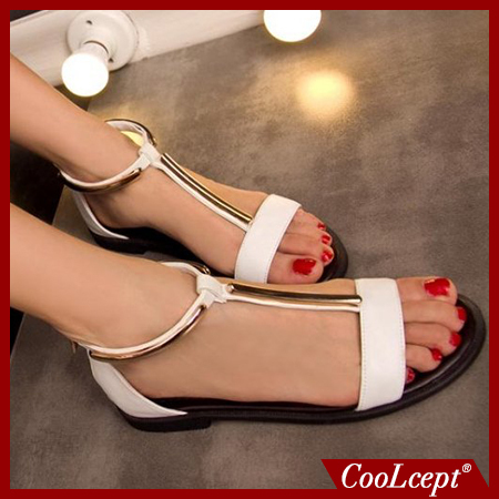 women real genuine leather bohemia slippers summer party flat sandals sexy fashion brand heeled ladies shoes size 34-39 R6527(China (Mainland))
