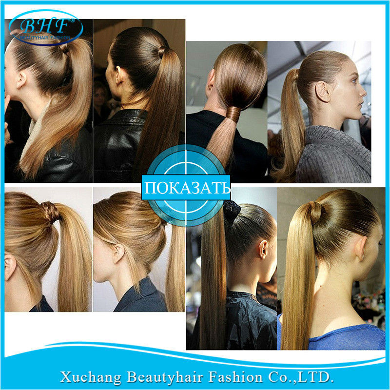 Unprocessed natural human hair ponytail extension 100g bhf full product description unprocessed natural human hair ponytail extension pmusecretfo Image collections