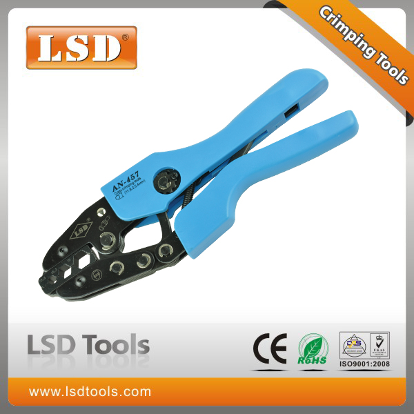 AN-457 High Quality Hand Crimping Tool Coax Crimper for crimping BNC cable, RG6,RG58,RG11(China (Mainland))
