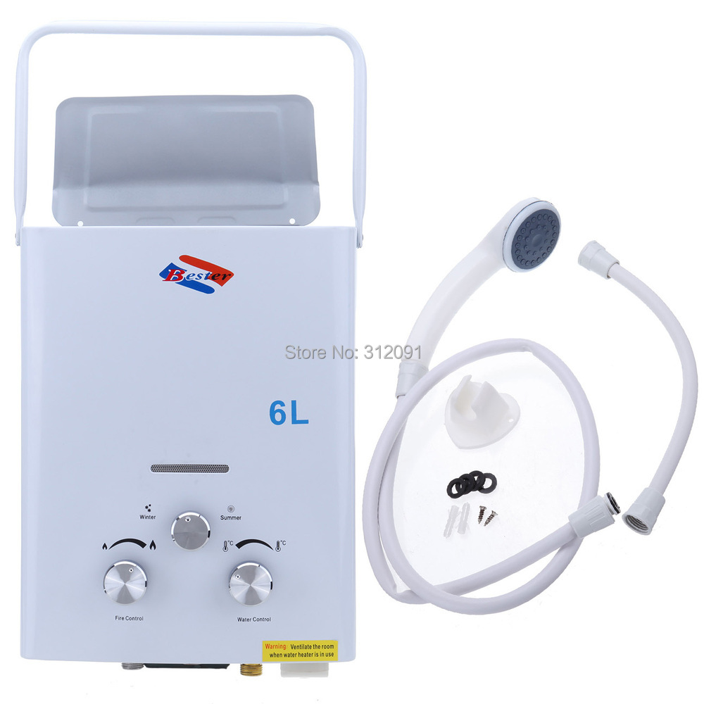 Tankless Water Heater For Boats : Aliexpress buy ship from au portable shower l lpg