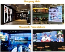 For control room lcd video wall display in 2x2,3x3,4x4,3x4 multi-screens advertising video wall(China (Mainland))