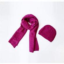 Women Winter Scarf  2015 Hot sell  Winter Scarves Two Sets Of Knitted Hats Scarves And Hats Woman(China (Mainland))