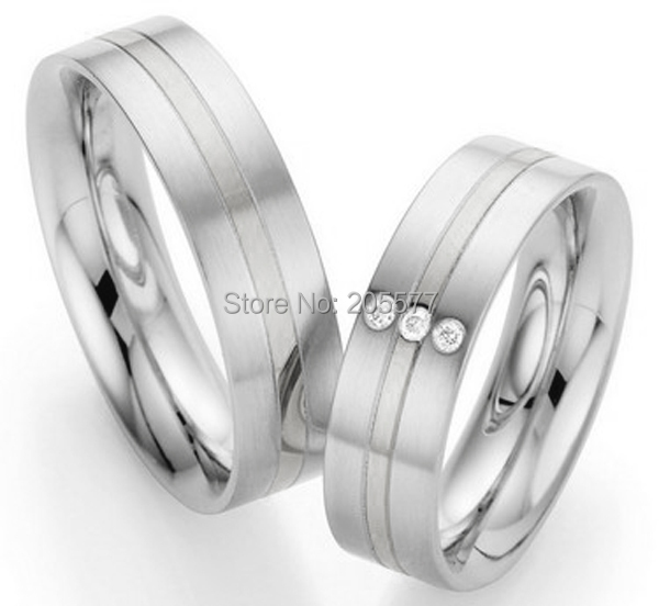 2014 His And Hers Women And Men Matching Wedding Rings Sets For