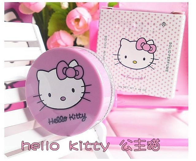 Hot~Female Perfume lady Solid Hello Kitty Perfumes and Fragrances of Brand Originals Elegant Sweet Parfum for women(China (Mainland))