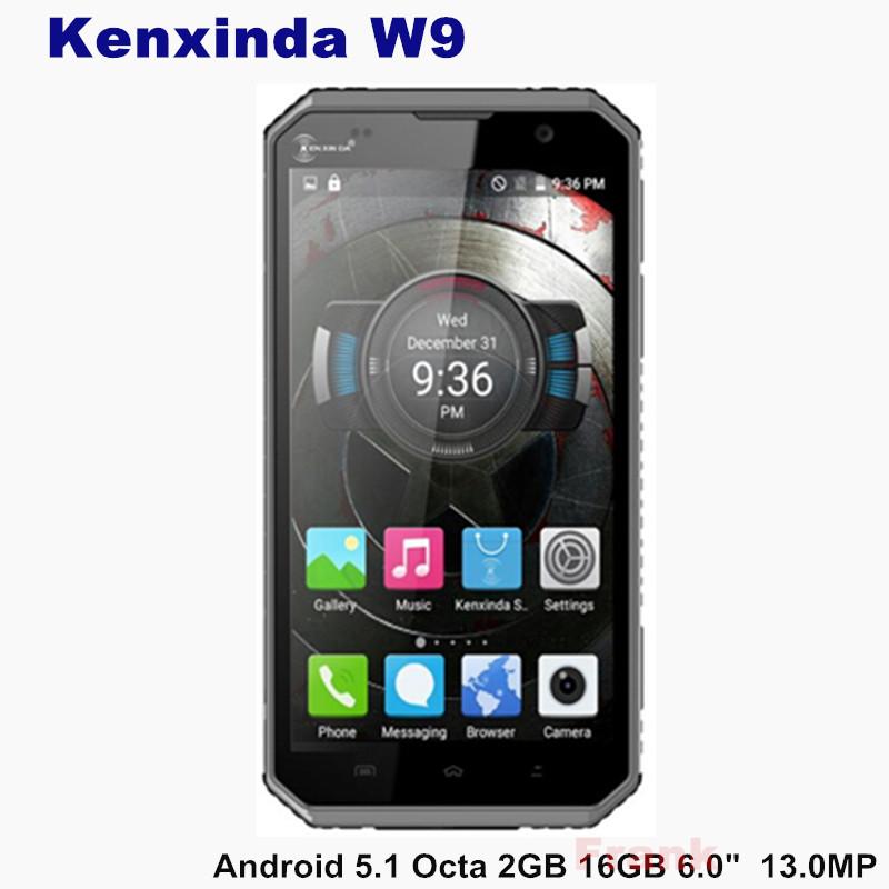 "6"" Original unlocked Kenxinda W9 IP68 Waterproof Shockproof Phone Android 5.1 MTK6753 Octa Core 2GB RAM 6.0Inch 1920*1080 13.0MP(China (Mainland))"