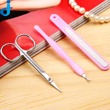 Professional Nail 1set/3pcs Salon Diy Nail Art Tool Scissors Grooming Kit Nail Grooming Kit For Nails  2JX2