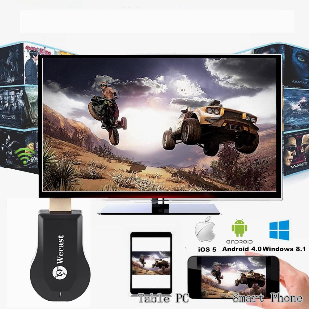 Wecast OTA TV Stick C2 TV Dongle Wi-Fi Display Receiver Mini Pc Tv Cast DLNA Miracast Airmirroring Better Than Google Chromecast(China (Mainland))