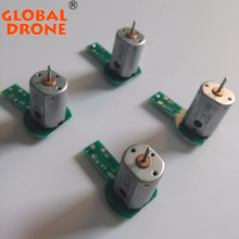 Free Shipping 4PCS/LOT Global Drone GW007-1 Drone Parts Motors For GW007-1 Quadcopter Helicopter Accessory