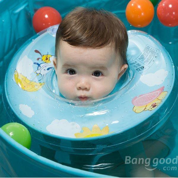 SoMagic Safety Baby Swimming Neck Ring Swimming Circle Floating Bath(China (Mainland))
