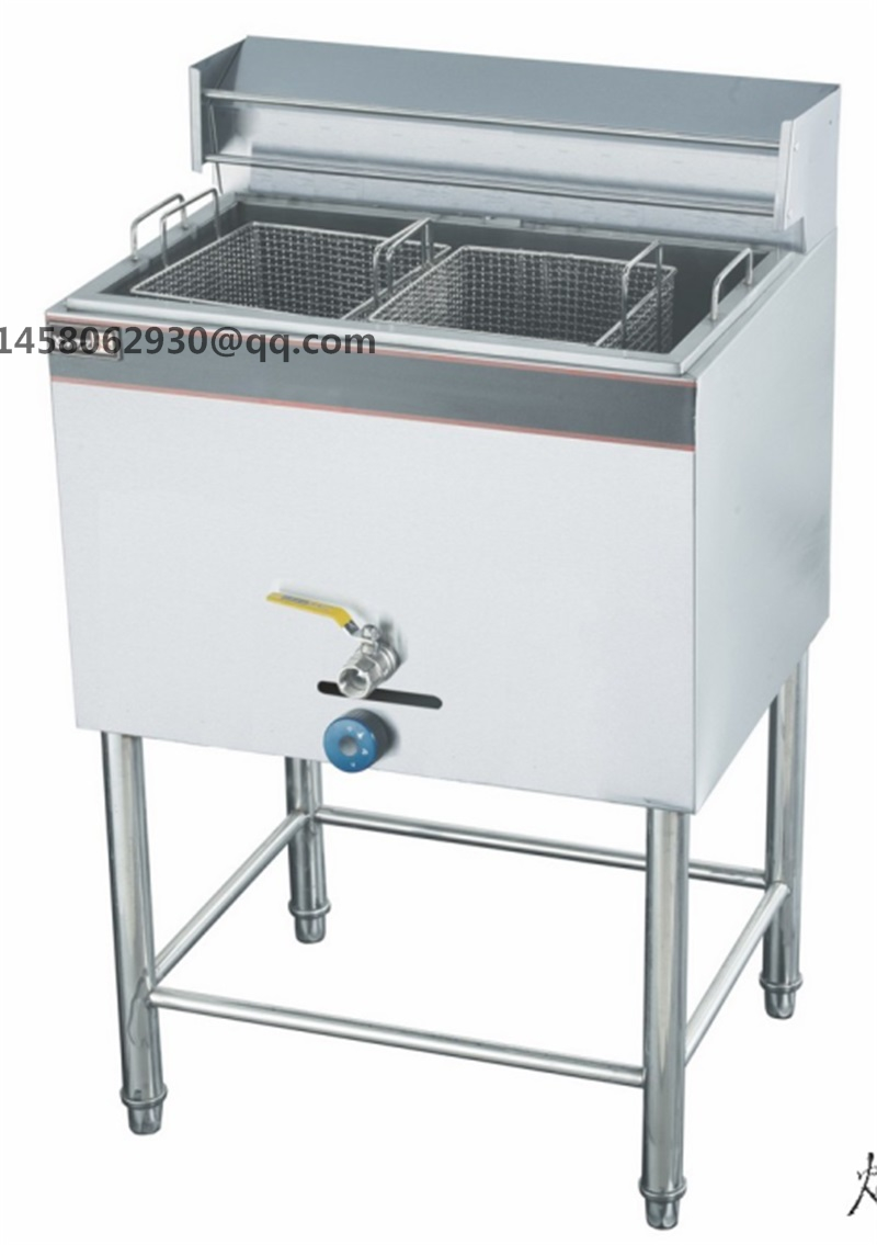 Factory Wholesale Gas Type Commercial Deep Fryer  Chicken Frying Machines<br>