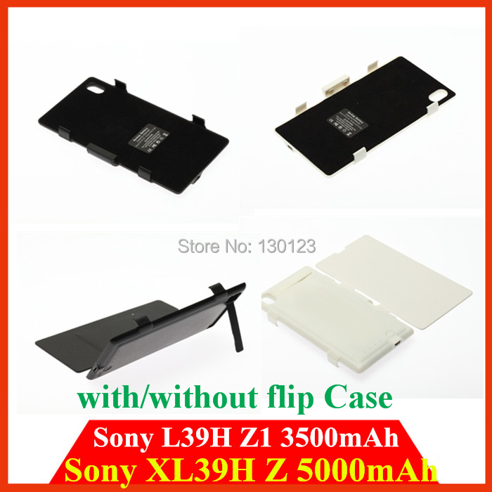 5000mah 3500mah Backup Battery case cover for Sony xperia Z ultra XL39H Z1 L39H rechargeable Power pack External bateria Charger