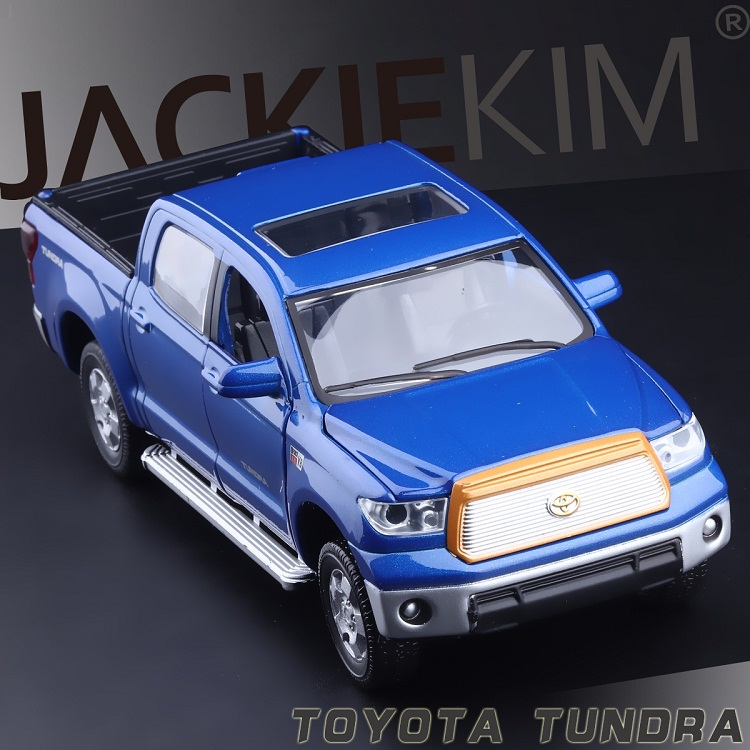 High Simulation Exquisite Model Toys: ShengHui Car Styling TOYOTA Tundra Pickup Trucks Model 1:32 Alloy Car Model Best Gifts(China (Mainland))