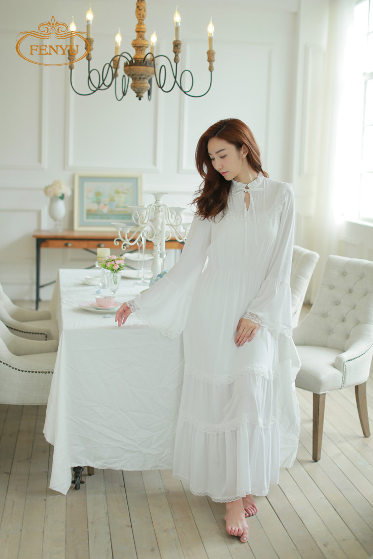 Free shipping 2015 new autumn princess women 39 s long for Chambre de nuit romantique