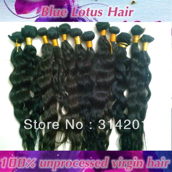 +1 Brazilian virgin loose curl hair extension - Blue Lotus Hair store