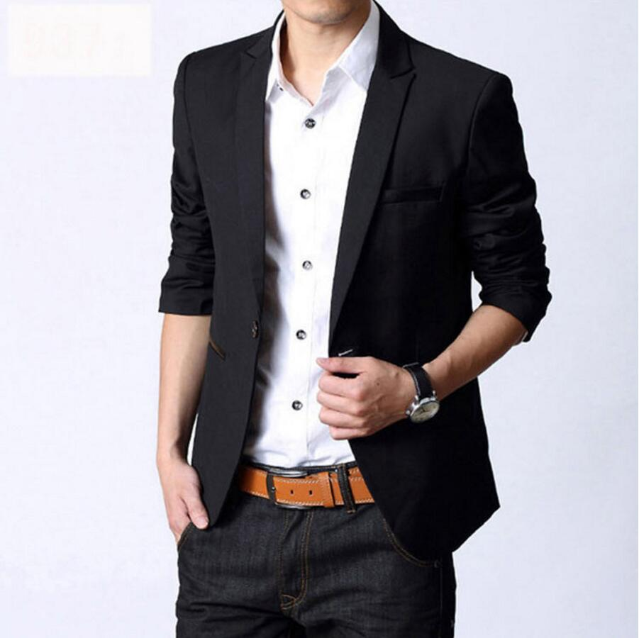Online Buy Wholesale formal black suits jacket for men from China