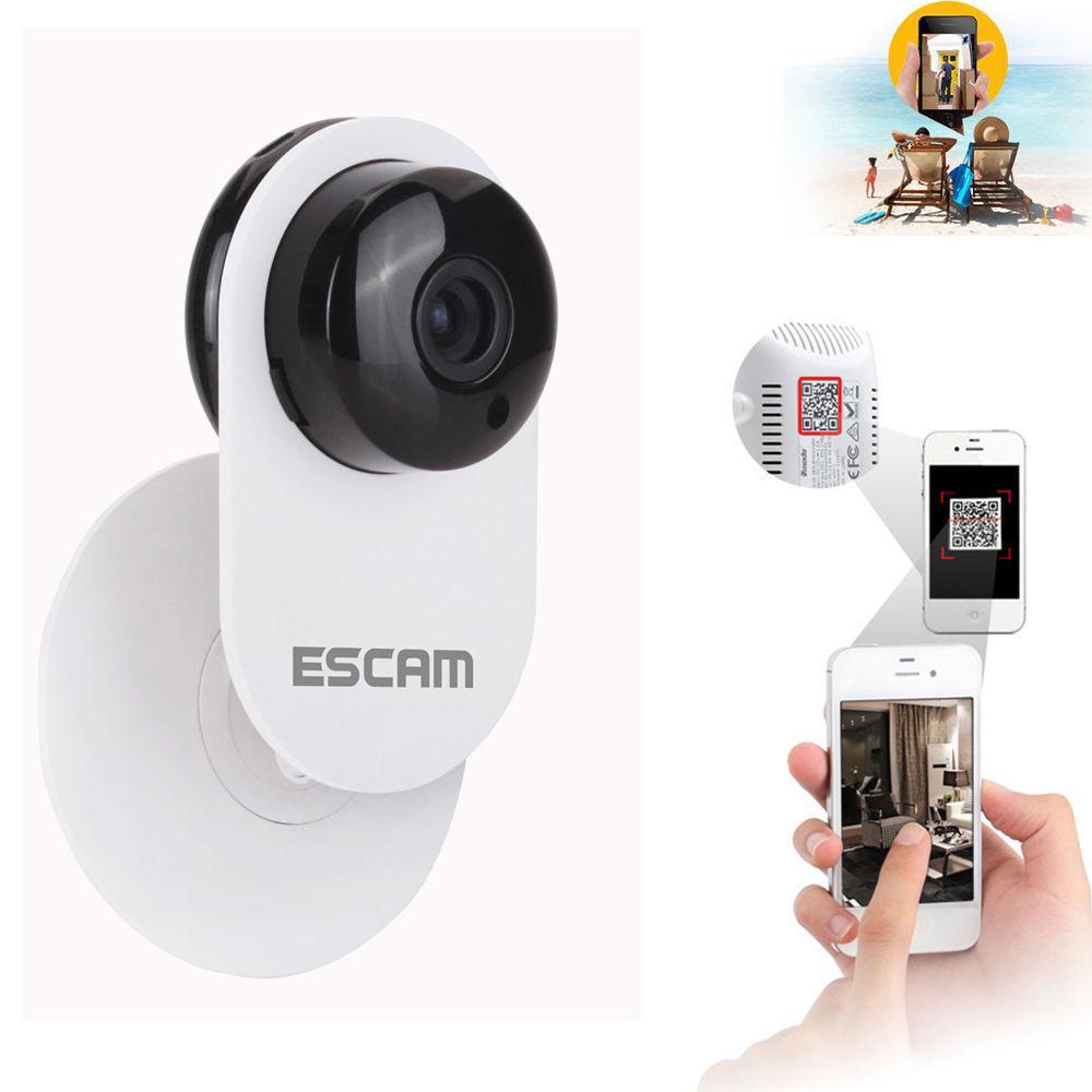 Escam 720P HD H.264 CCTV Smart Camera IR Wireless Network IP Webcam WiFi Camera