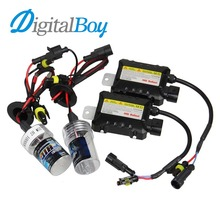 Buy Digitalboy Xenon Bulb H7 35W Car HID Xenon Slim Ballast Conversion Block Kit H1 H3 H8/H9/H11 880 881 9005 9006 Car Headlight for $18.50 in AliExpress store
