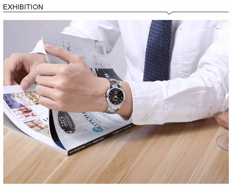 DOM 2016 Мужские Часы Лучший Бренд Класса Люкс Кварцевые Часы Мода Марка Стали Вольфрама Водонепроницаемые Часы Montre Роскошные Часы Повседневная