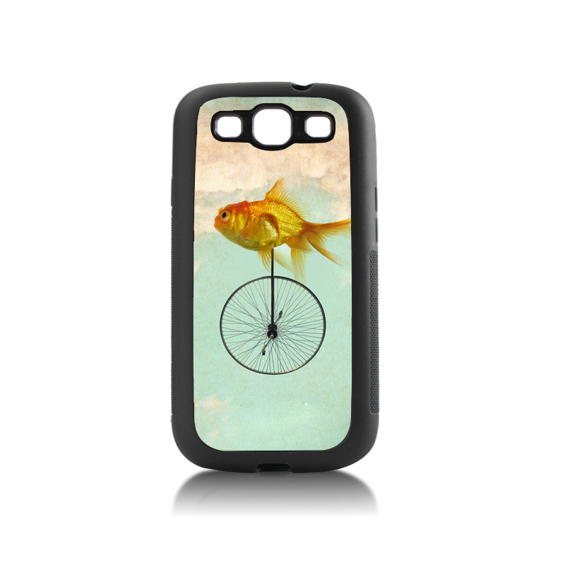 Charge coffee low battery tpu soft black Cell Phone For case GALAXY s3 i9300