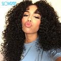 130 Density Curly Silk Top Full Lace Wigs Brazilian Virgin Human Hair Silk Top Glueless Kinky
