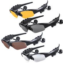 HOT Audifonos Bluetooth Wireless Bluetooth Headphone Headset Sunglasses Earphone Stereo Music Sun Glasses Headset Handsfree(China (Mainland))
