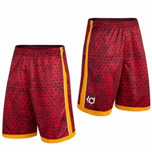Fashion 2016 Summer Brand KD Kevin Durant Sport Gym Basketball homme Bermuda Men Short Loose Running Men's Shorts Plus Size 3XL(China (Mainland))