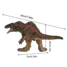 Brinquedo do Dinossauro jurássico Grande Mosasaurus Macio Pintados À Mão Animais Figuras de Ação PVC Coleção Modelo Brinquedos de Dinossauros Para Crianças(China)