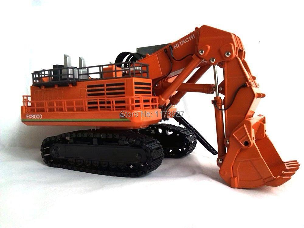 1/87 HITACHI Hydraulic large Excavator EX8000 Diecast Mode(China (Mainland))