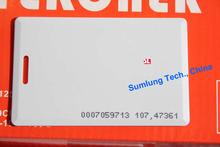 100 pz clamshell id card 125 khz rfid di prossimità iso em4100 compatibile con controllo di accesso membership management no seriale . stampabile(China (Mainland))