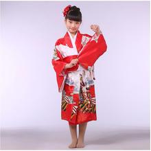 Buy National Trends Japanese Baby Girl Kimono Dress Traditional Children Yukata Kid Girl Dance Dress Child Cosplay Costumes for $22.55 in AliExpress store