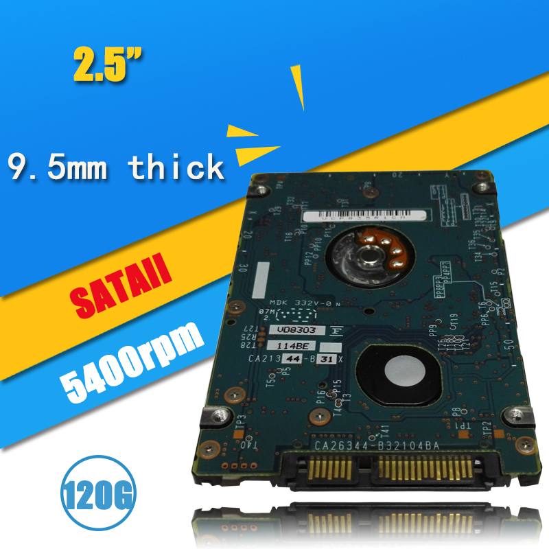 """24hours delivery A+++ 2.5"""" HDD SATA serial port hard disk 120GB Internal Hard Disk Drive for laptop notebook 5400 RPM 8M(China (Mainland))"""
