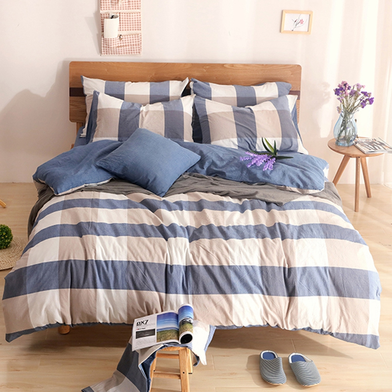Popular checkered bedding buy cheap checkered bedding lots for Minimalist bedding sets