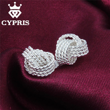 2016 E013 LOSE MONEY SALE New Design silver earrings women fashion lady gift Ohrring/boucle/brinco/pendiente 925 jewelry CYPRIS(China (Mainland))