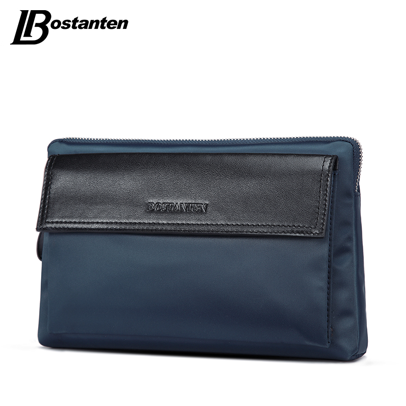 BOSTANTEN Brand Men Clutch Bags Fashion Waterproof Nylon Zipper Large Capacity Phone Wallet Hand Bags Long Male Clutch Purse New(China (Mainland))