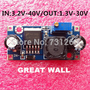 Free Shipping 100pcs LM2596 LM2596S DC-DC 4.5-40V adjustable step-down power Supply module NEW ,High Quality