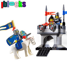 IBLOCKS Nexus Knights Ancient Castle War Warrior Minifigures Building Blocks Set Enlighten Bricks Plastic Child Toys Boys - iblocks store