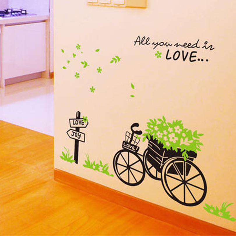 Buy removable autocollants muraux wall stickers home decor h - Stickers muraux cdiscount ...