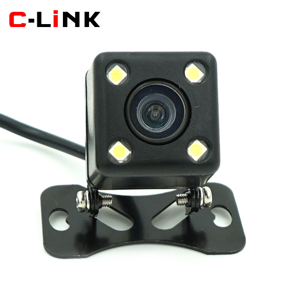 170 Degree Wide View Angle HD CCD 480 TV Line Night Vision Waterproof Car Parking Backup Reverse Rear View Camera Parking Line(China (Mainland))