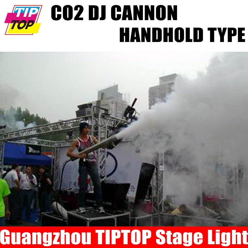 Stage Effect DJ Cannon,handhold CO2 jet machine,DJ CO2 machine for wedding lights,shooting distance 6m-8m<br><br>Aliexpress